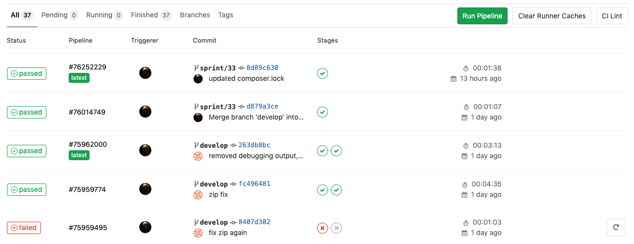 GitLab Continuous Delivery Pipeline